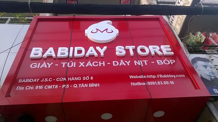 bang alu shop giày baby day