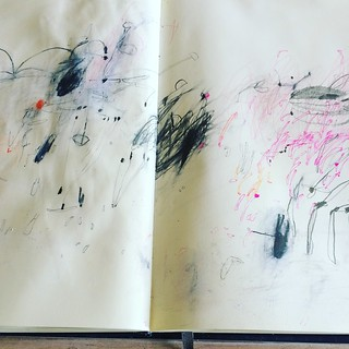 Big sketchbook. | by Lari Washburn