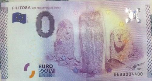 Zero Euro note