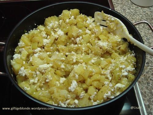 Kartoffel Zucchini Feta Pfanne 3