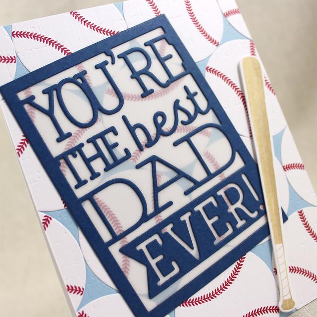 Baseball Dad Close Up