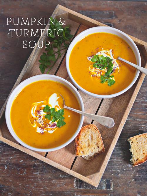 Pumpkin & Turmeric Soup | spicyicecream