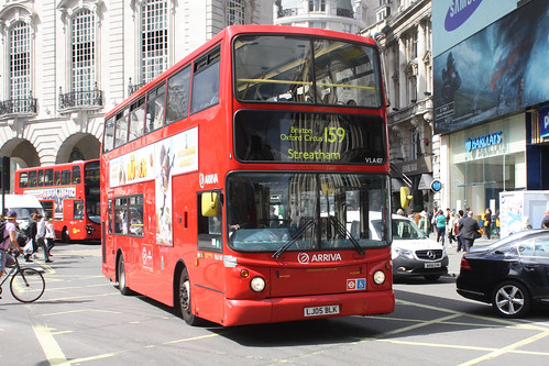 Arriva London South VLA107 LJ05BLK