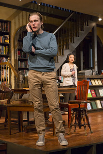 Tina Chilip (Linda) and Zachary Booth (Daniel). A timely new drama by A. Rey Pamatmat about bullying and second chances, 'after all the terrible things I do' plays May 22 — June 20, 2015 at the South End / Calderwood Pavilion at the BCA.