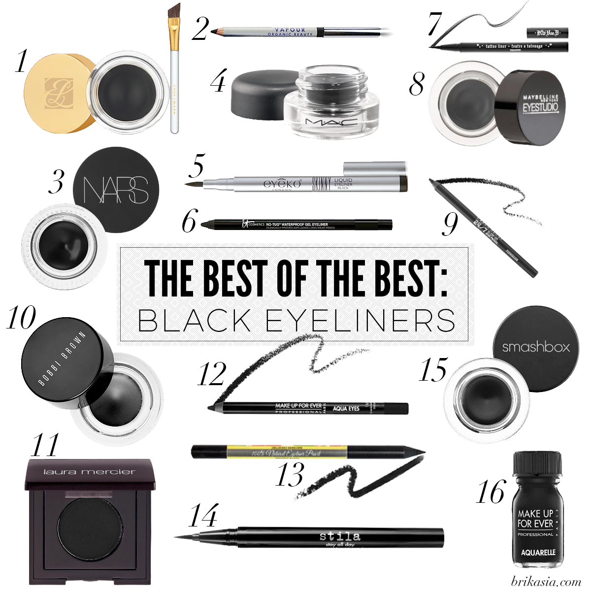 16 Best Black Eyeliners