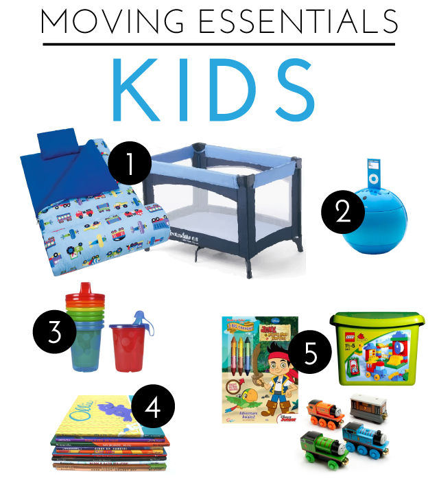 Moving Essentials | Kids