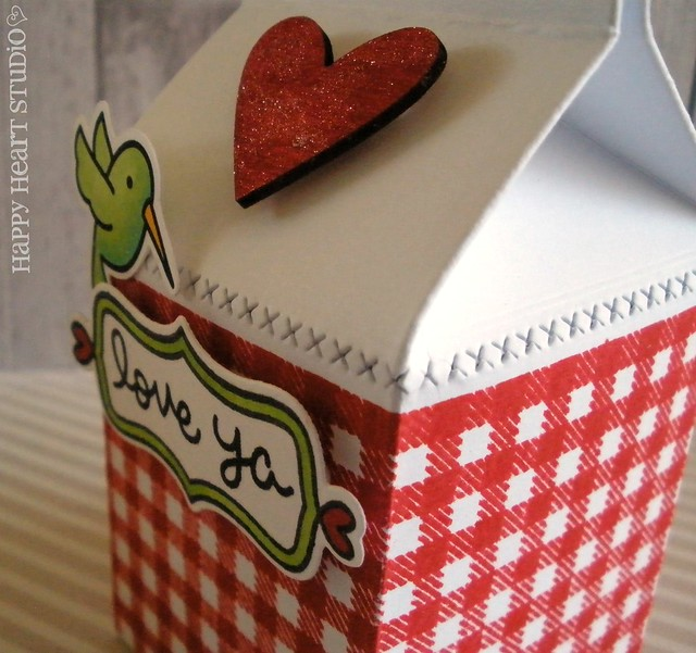 gingham milk carton 3