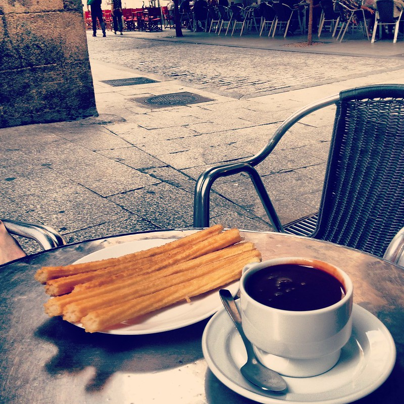 With only one day in Madrid, do not miss a chance to try their infamous Churros con chocolate!
