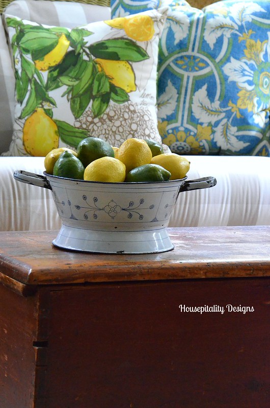 Vintage Colander-Housepitality Designs