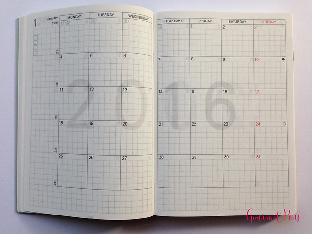 Review 2015 Hobonichi A6 Planner @TheJournalShop (13)