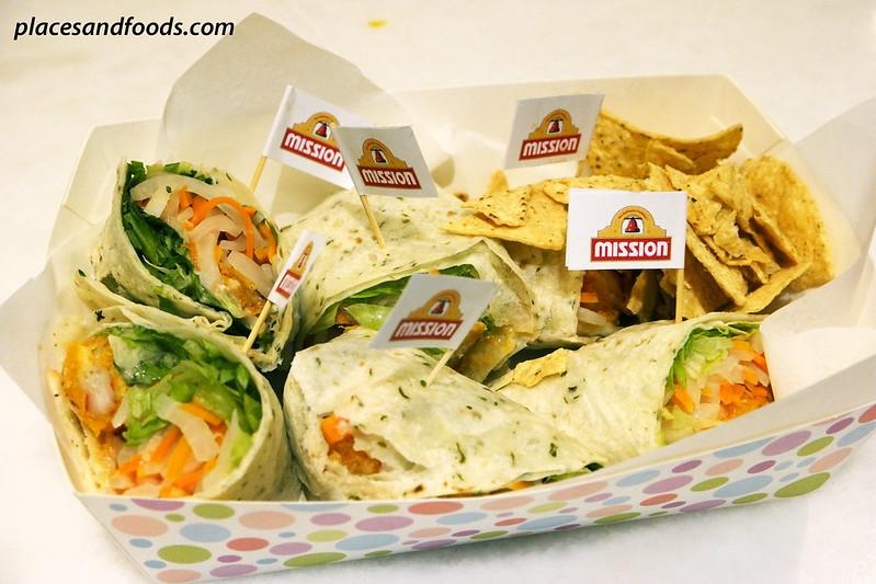 mission foods wraps