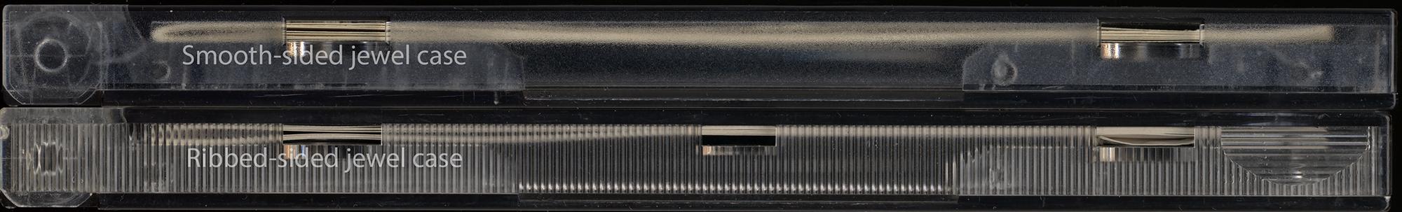 jewel case edge