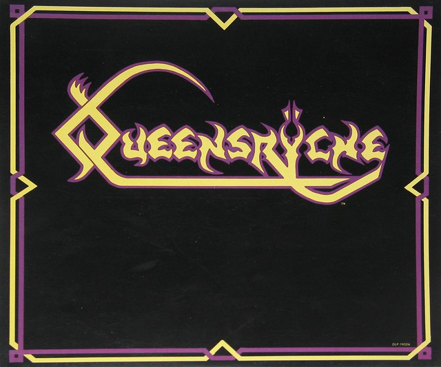 "Queensryche self-titled 12"" vinyl LP album"