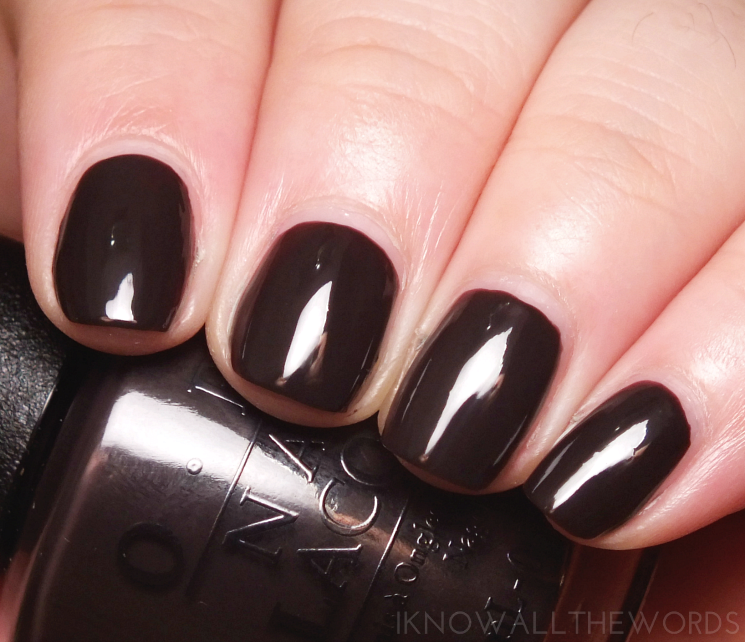 OPI Shh... It's Top Secret!