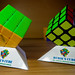 My Home Made Rubik's Cube Stand - Double - DSC02025