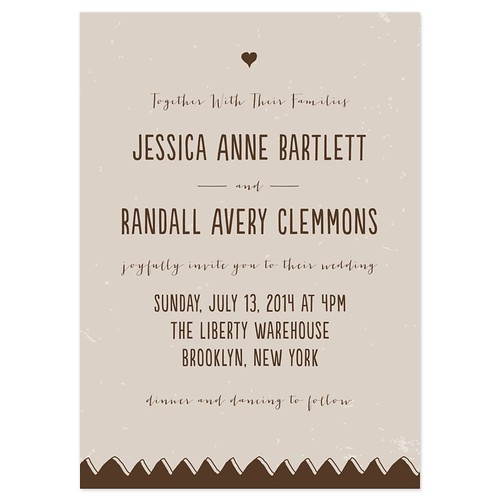 Second Marriage Invitation Wording with adorable invitation example