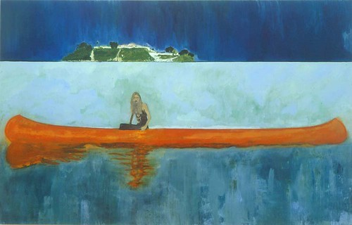 Peter Doig, 100 Years Ago (Carrera), 2001, Oil on canvas