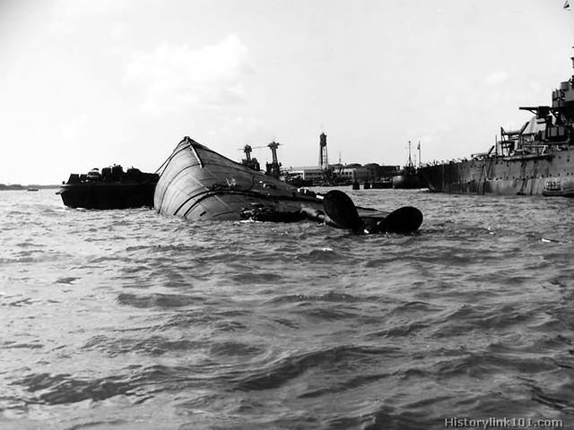 Pearl Harbor Attack - December, 7, 1941
