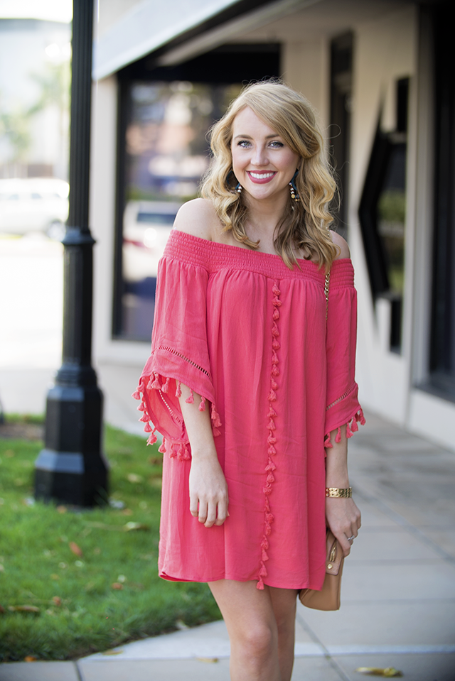nordstrom off the shoulder dress