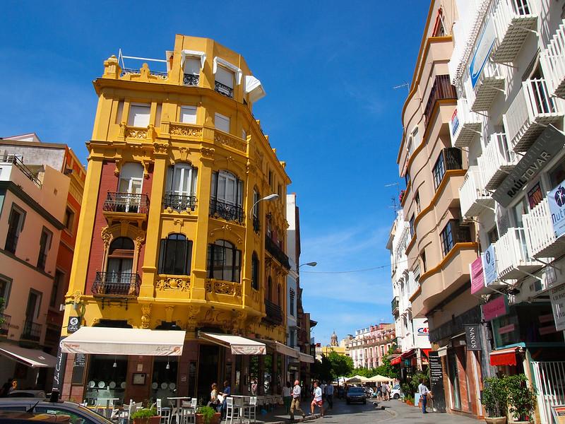 Street in Seville, Spain