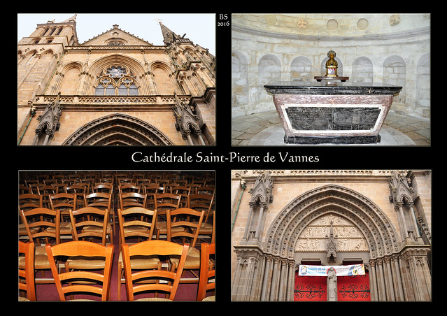 Vannes (Bretagne) - Kathedrale - Cathédrale Saint-Pierre de Vannes - Foto: Brigitte Stolle 2016