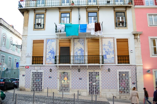Tiles in the Alfama neighborhood | The Streets of Lisbon | No Apathy Allowed