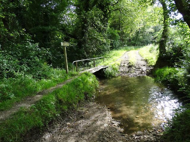 Regato de San Bieito en el Ruta dos Ríos de Cambre