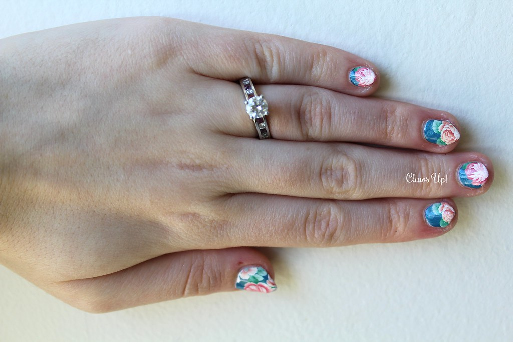Born pretty store floral nail art decals. 10% coupon code JACG10