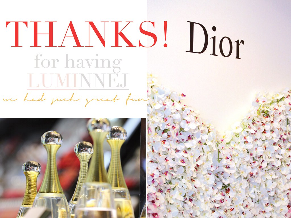 Dior MV Thank You Note