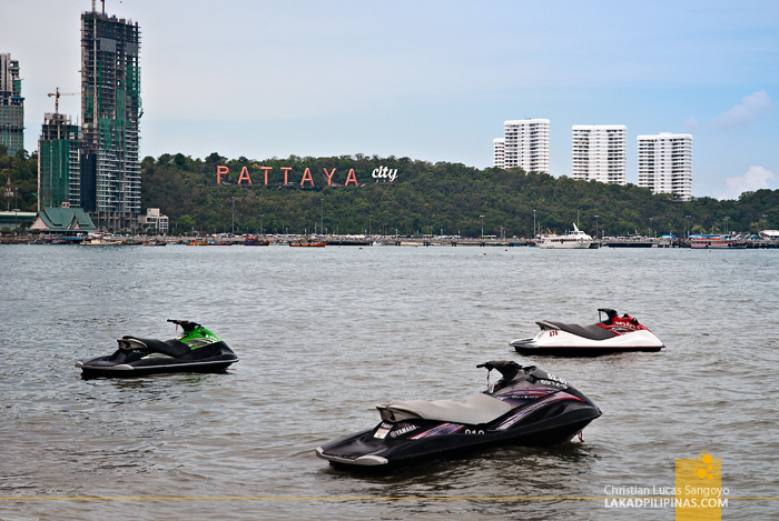 Pattaya Beach in Thailand