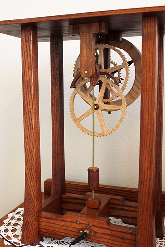 Arts and Crafts Clock by Clayton Boyer | Woodworking plans ...