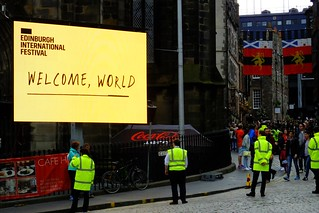 Edinburgh Festival - Welcome World | by byronv2