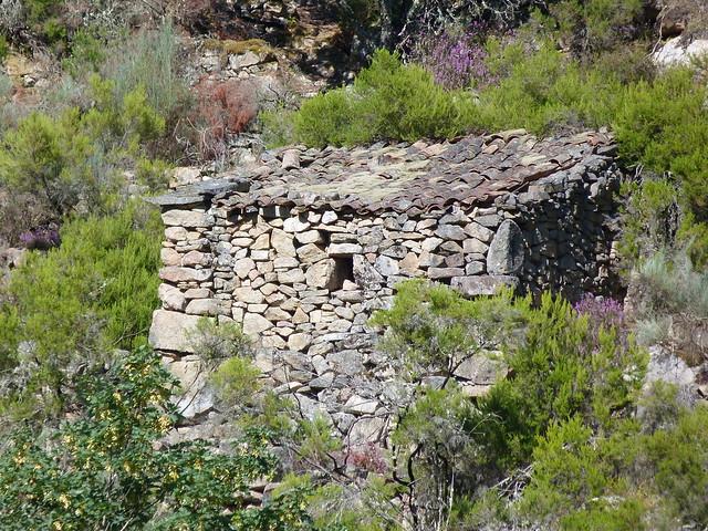 Ruinas en el Cañón del Sil (Ribeira Sacra, Galicia)