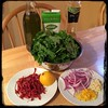 #homemade #rapini w/ #SundriedTo #CucinaDelloZio - ingredients