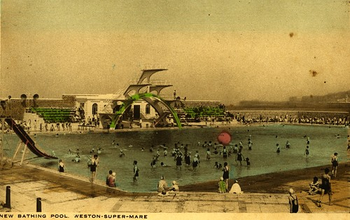 Weston Super Mare Bathing Pool Art Deco Swimming Pool Buil Flickr