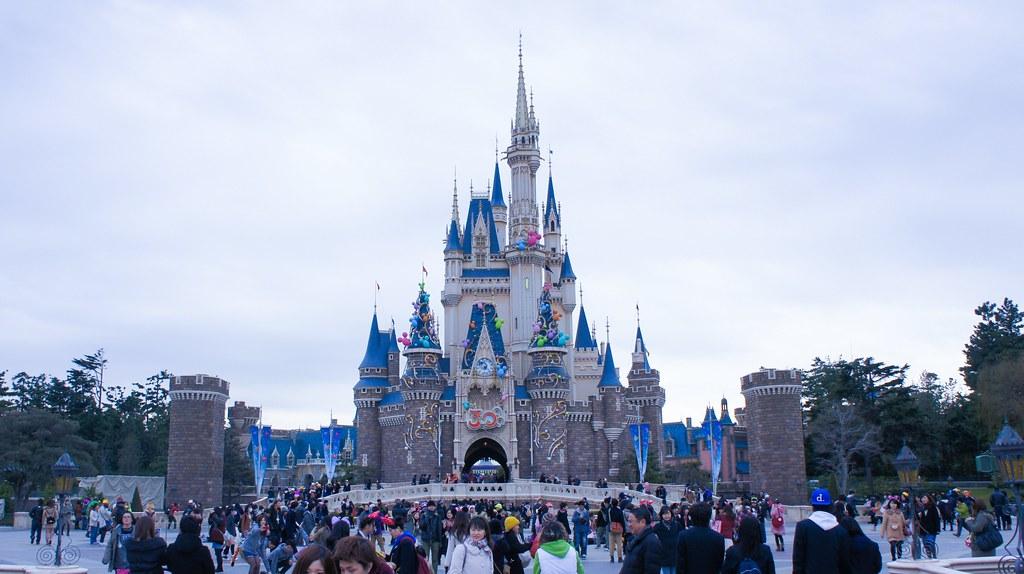 cinderella castle tokyo disneyland tdl tokyo disney flickr