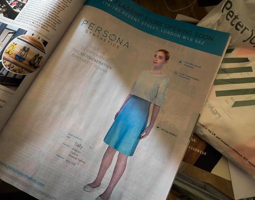 Persona Synthetics advertisement