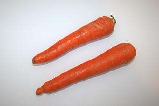 08 - Zutat Möhren / Ingredient carrots