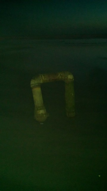 Mysterious Beach Pipe