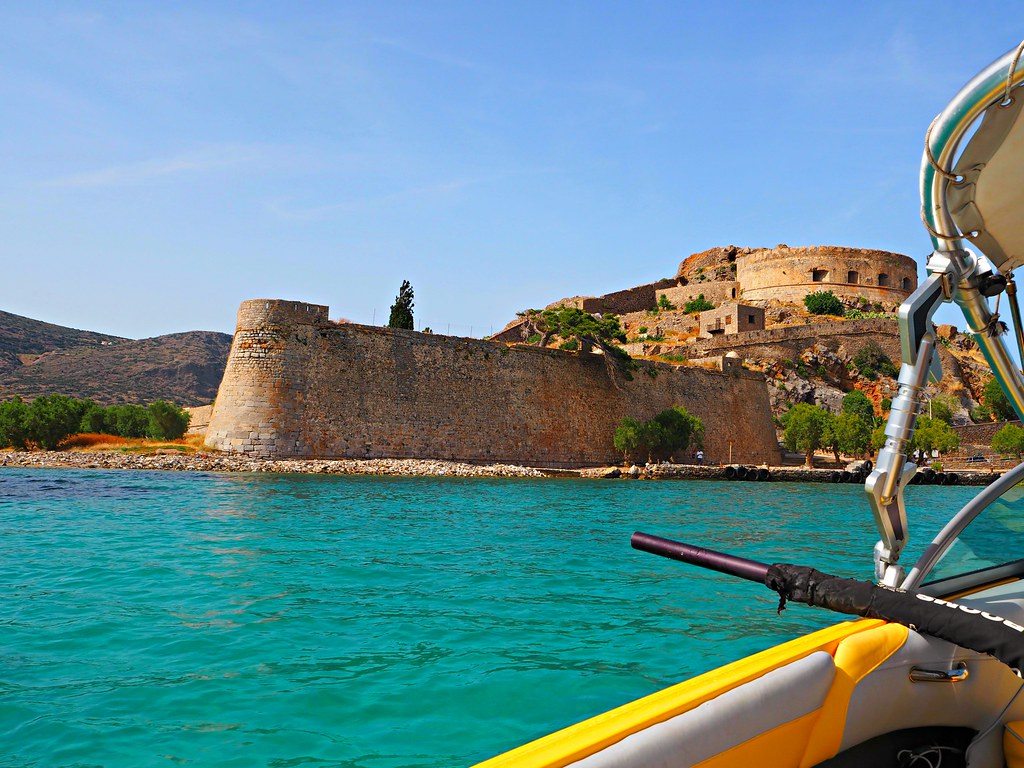 Spinalonga Island Crete Greece 1