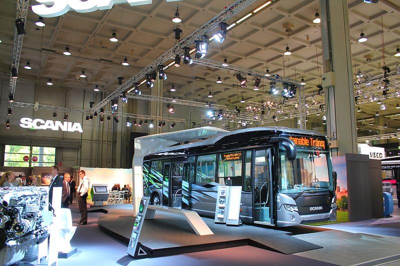 Scania Citywide LE Hybrid -  UITP Milan 2015 - MiCo Milano Congressi