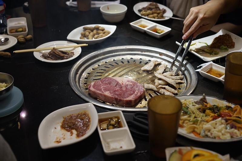 在洛杉磯的美味韓國烤肉