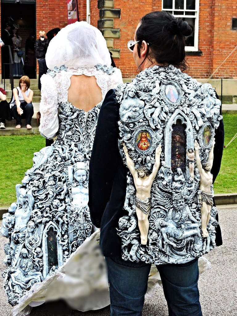 lincoln steampunk wedding dress new lincoln cathedral | Flickr