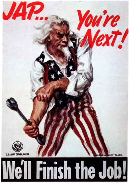 World War II Poster - JAP...You're Next