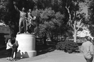 North Beach - Washington Square statue