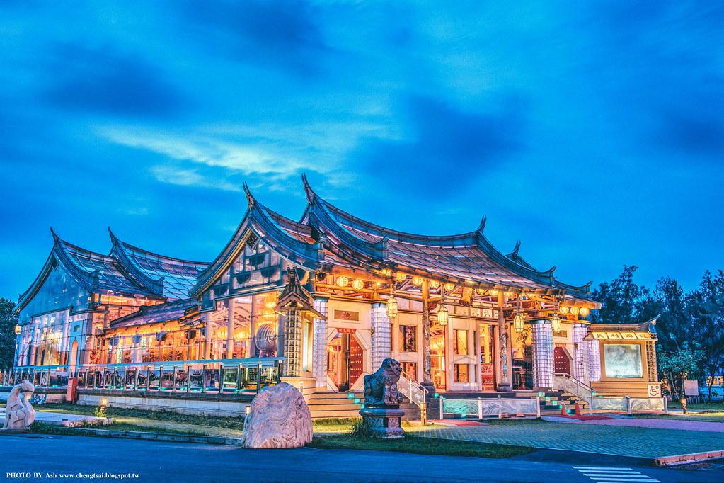 鹿港 - 玻璃媽祖廟 HDR