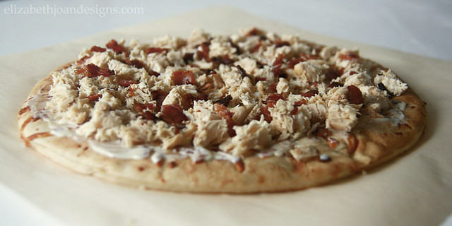 Chicken Bacon Pizza Toppings