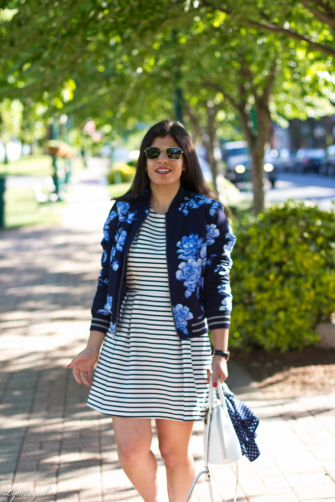 striped dress, floral blazer, converse.jpg