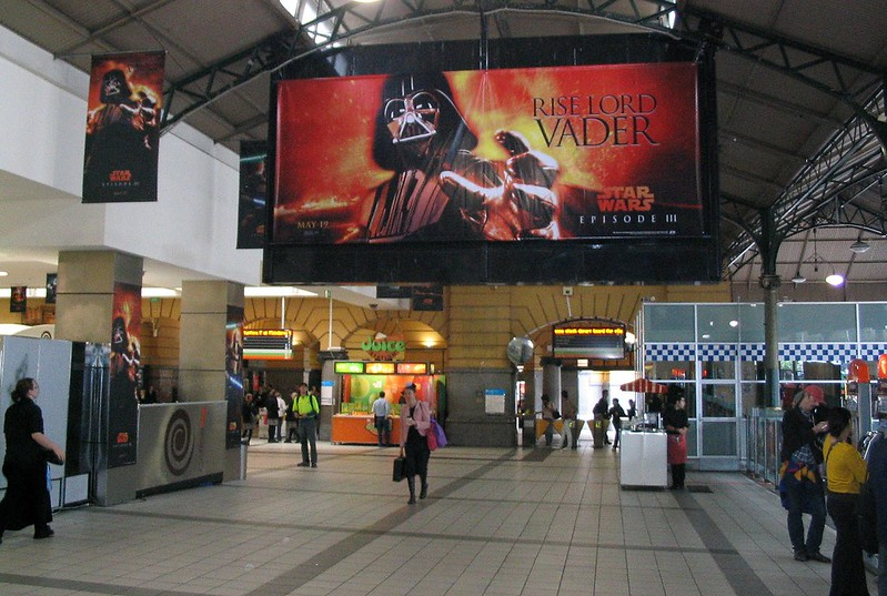 Arise Lord Vader - Flinders Street station, May 2005