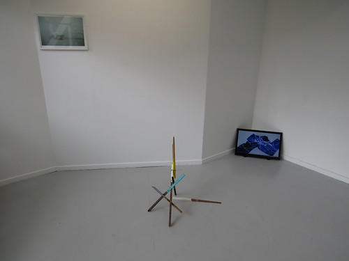 Kjetil Kristensen: State of Mind # 11 (Borderline Picturesque) + Sticks + I Want to Paint, I Want to Pollock my Pants